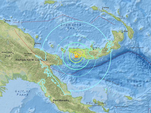Нов силен земјотрес во Папуа Нова Гвинеја