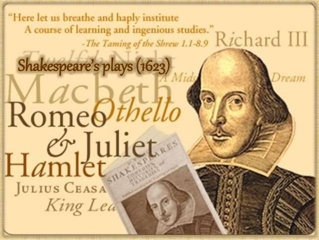 """Шекспир """"фатен"""" во плагијат"""