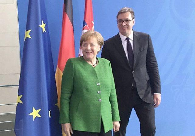 Вучиќ по средбата со Меркел: Србија ги има целосното разбирање на Германија