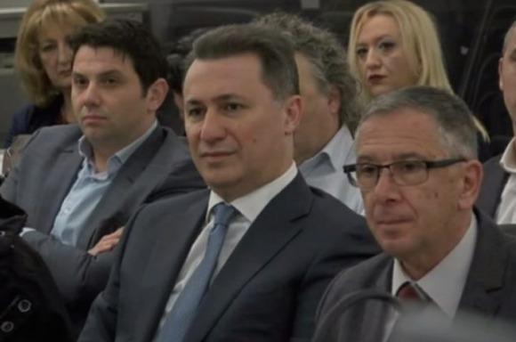 Груевски до судот: Надминете ги стравовите и донесете исправна одлука