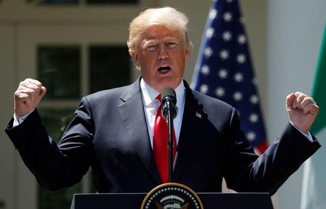 Трамп објави дека САД излегуваат од нуклеарниот договор со Иран