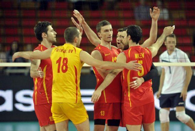 Македонските одбојкари со победа над Унгарија ги почнаа квалификациите за ЕП