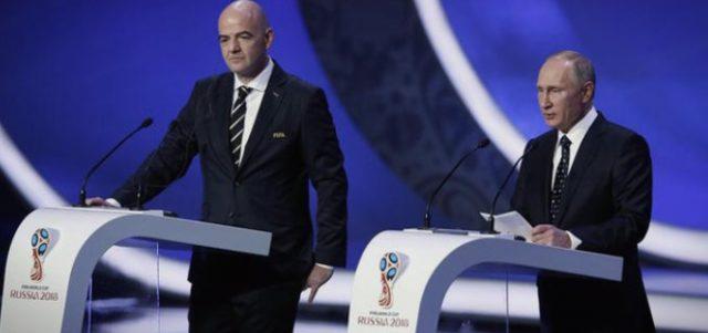 Путин ќе учествува на 68. конгрес на ФИФА
