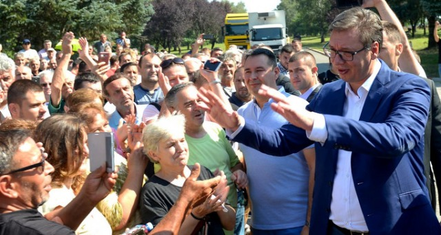 Вучиќ е за разграничување со Албанците