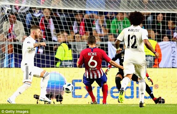 Атлетико му го зема на Реал Суперкупот на УЕФА