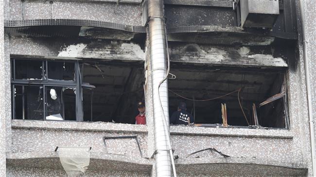Девет смртно настрадани во пожар во болница на Тајван