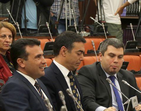Комисијата за уставни прашања го усвои заклучокот Собранието да го поддржи предлогот на Владата за уставни измени