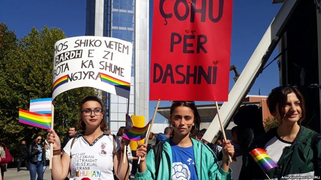 Во Приштина се одржа втората Парада на гордоста