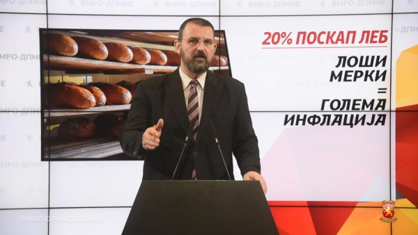 Стоилковски: Лебот поскапе заради неодговорноста на власта