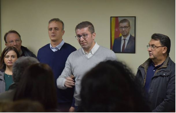 Мицкоски: Ќе ги победиме зашто нашата борба е за за иднина и правда, за сигурна и развиена Македонија